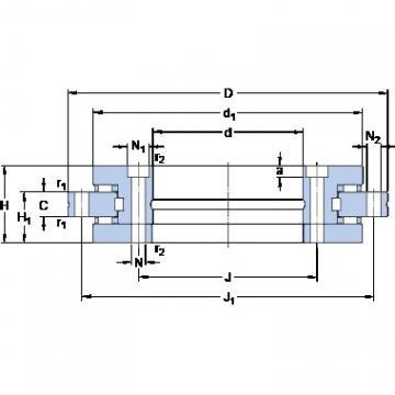 SKF NRT 200 B Angular contact thrust ball bearings 2A-BST series