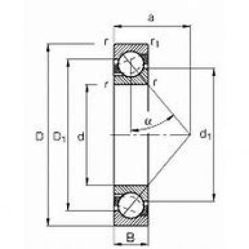 BARDEN CZSB10M8E DBB, DFF, DBT, DFT, DTT, Quadruplex Precision Bearings