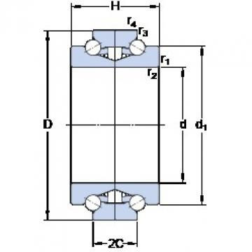 SKF BTW 85 CTN9/SP Easy Handling Precision Bearings
